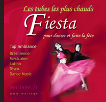 CD Musique Tubes Chauds Fiesta