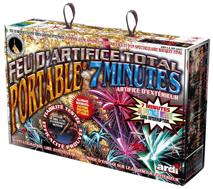 Feu d'artifice Automatique Portable 7 min