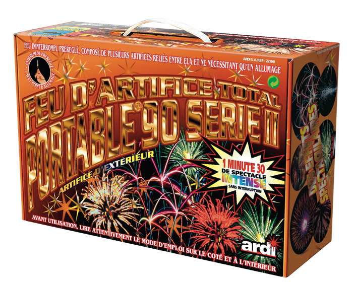 Feu d'Artifice Automatique Portable 90