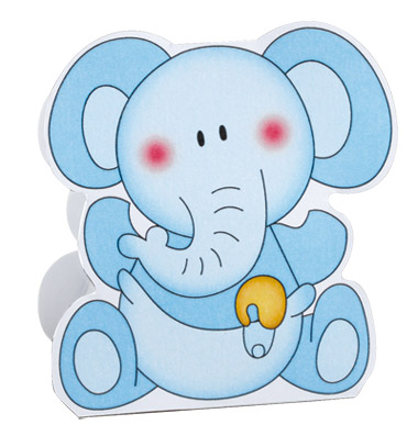 Boite à Dragées Bébé Garçon Pas Cher Éléphant