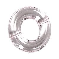 Support Anneau Transparent Boule Contenant Dragée