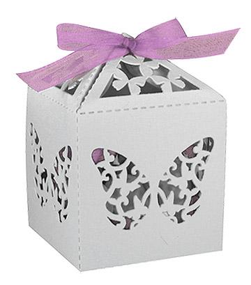 boites cages oiseau blanc papillon drag es drag es mariage. Black Bedroom Furniture Sets. Home Design Ideas