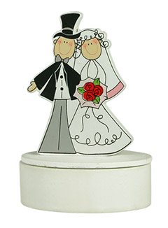 Boite dragees Figurines Mariage