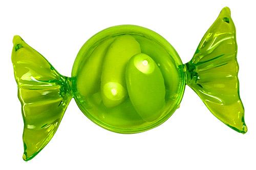 Lot de 6 bonbons papillottes pvc couleur avec drag es - Lambris pvc vert anis ...