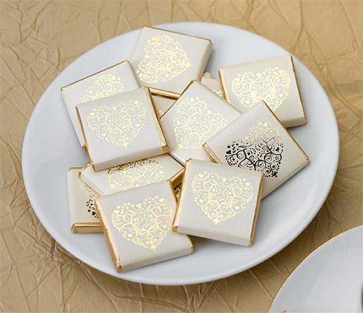 Carr s chocolat emball s invit s coeur dor boites de - Appareil photos jetable pas cher ...