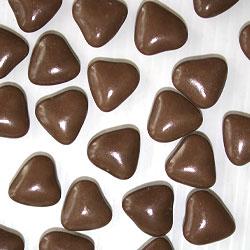 Dragées Petits Coeurs Chocolat