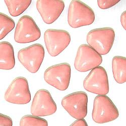 Dragées Petits Coeurs Chocolat Rose