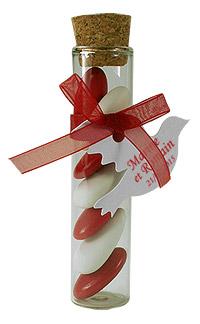 Etiquettes Carton Colombes pour boites dragées