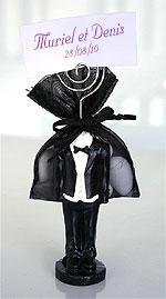 Figurines Mariage Pochon dragées