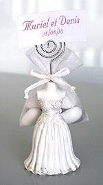 Figurines des Mariés Pochon dragées