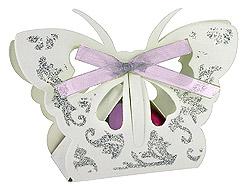 Papillon Boite Contenant Dragées