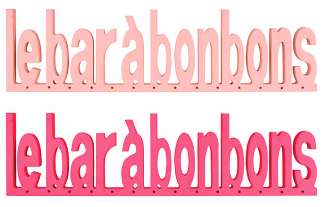lettres en bois bar bonbons stand candy bar bar bonbons. Black Bedroom Furniture Sets. Home Design Ideas
