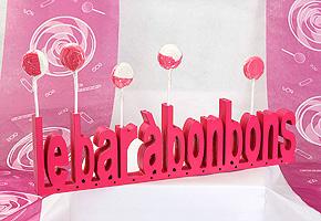 Lettres en Bois Bar à Bonbons pas cher