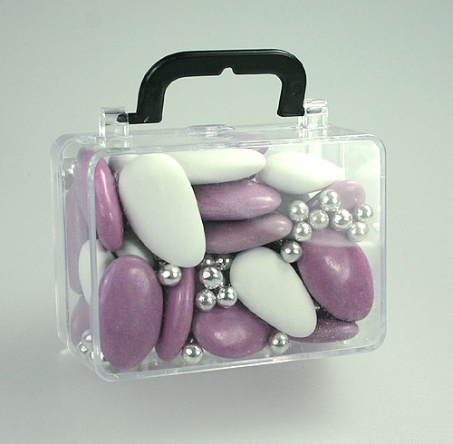 Valises Pvc Transparent Contenant Dragées