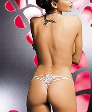 String Fleur Dentelle Mariage Luiza