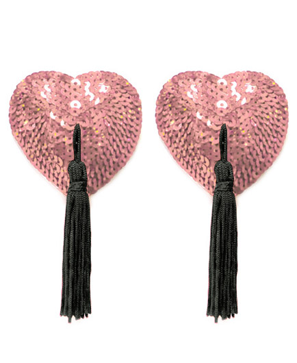 Les caches t tons coeur pompon les bijoux de cr ateurs pour la mari e mariage - Pompon en laine forme coeur ...
