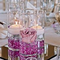 Vases Coupelles en Verre