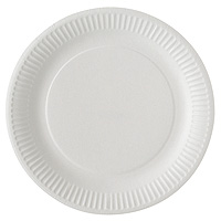 Assiettes Carton Blanches Mariage