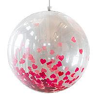 Ballon Géant 1m Transparent Mariage