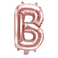 Ballon Lettre B Rose Gold