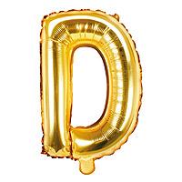 Ballon Doré Lettre D
