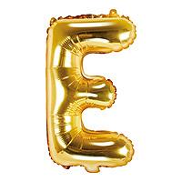 Ballon Doré Lettre E
