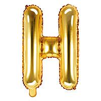 Ballon Lettre H Doré