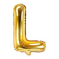 Ballon Lettre L Doré