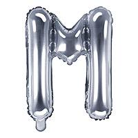 Ballon Lettre M Argent