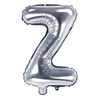 Ballon Lettre Z Argent