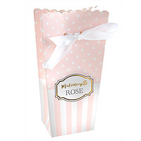 Boites Baby Shower Rose Pale