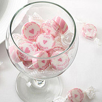 Le Sachet de 50 Bonbons Enveloppés Just Married