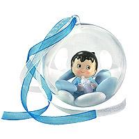 Boules Bébé Style BD Contenant Dragées Baptême