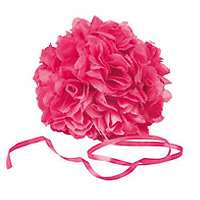 Boule Fleurs Artificielles Roses Mariage Fuchsia