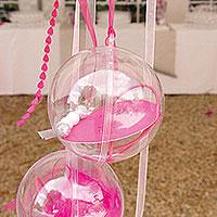 La Boule Géante Translucide de Décoration 16 cm