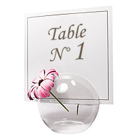 La Boule en Verre Soliflore Centre de Table