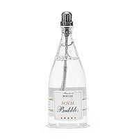 Lot 24 Bouteilles Champagne Bulle de Savon Gris Luxe