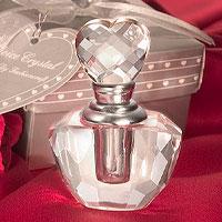 Mini Bouteille de Parfum Cristal Cadeau Invité