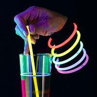 Lot de 15 Agitateurs ou Bracelets Fluo