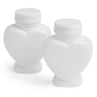 Lot de 6 bouteilles stylisées bulles de savon