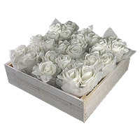 Le Lot de 9 Compositions Florales avec Cageot
