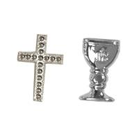 Calices ou Croix Argentées Communion