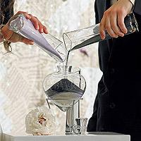Le Set 6 Pièces Vases en Verre Coeur Sand Ceremony Luxe