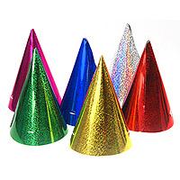 Lot de 20 Chapeaux de Soirée Brillants Scintillants