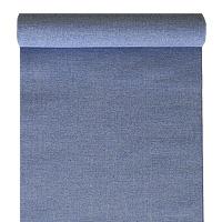 Chemin de Table Tissu Bleu