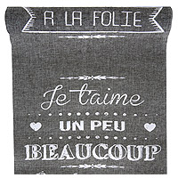 Chemin de Table Je T'Aime Vintage