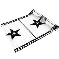 Chemin de Table Organdi Mariage Thème Cinéma Hollywood