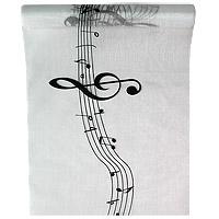 Chemin de Table Organza Musique