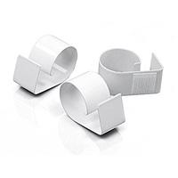 Le Clips Métal Laqué Fixation Velcro pour Jupe de Table Luxe