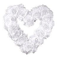 Le Coeur Géant Fleurs Blanches Luxe XXL